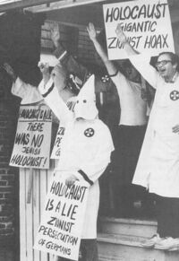 KKK holocaust a zionist hoax