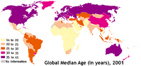 Median age