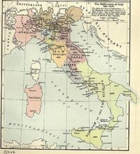 Unification of Italy 1815-1870