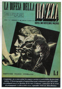 La difesa della razza