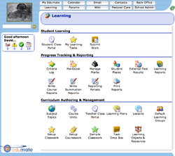 Edumate screenshot