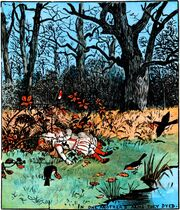 Babes in the Wood - 8 - illustrated by Randolph Caldecott - Project Gutenberg eText 19361