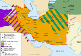 Map Safavid persia