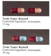 Temazepam DOJ