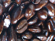 Espresso-roasted coffee beans