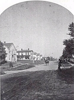 Garrettsburg OH c1878 Crosby M French