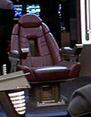Sovereign class Captain&#39;s chair
