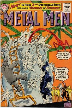 Cover for Metal Men #2