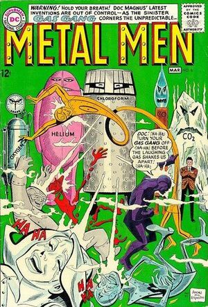 Cover for Metal Men #6