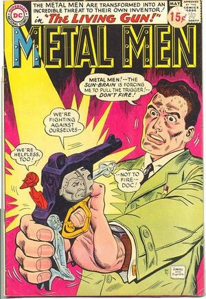 Cover for Metal Men #7