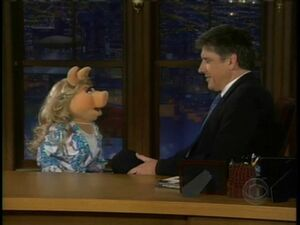 Miss Piggy on Late Late Show 0002