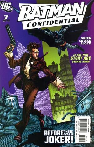 Cover for Batman Confidential #7 (2007)