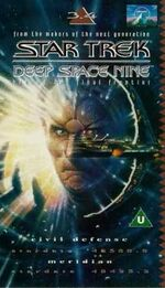 DS9 3.4 UK VHS cover