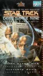 DS9 4.4 UK VHS cover