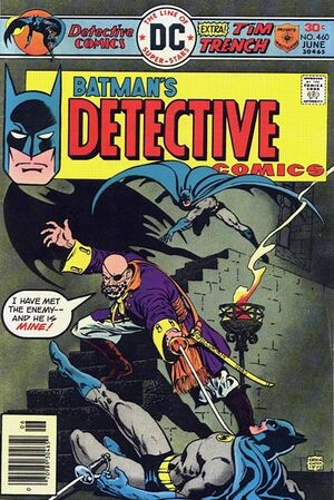 Cover for Detective Comics #460