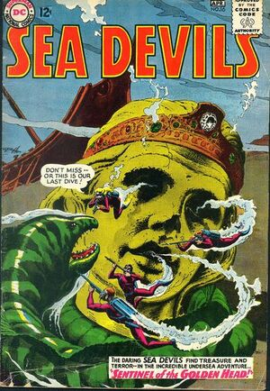Cover for Sea Devils #16