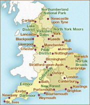 MapEngland