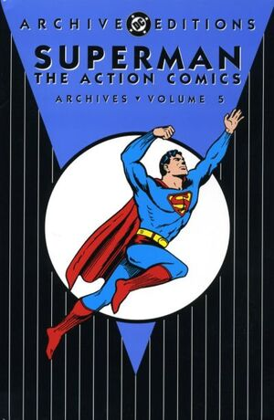 Cover for Action Comics Archives #5