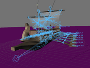 Blender demo screen trireme