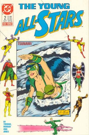 Cover for Young All-Stars #2