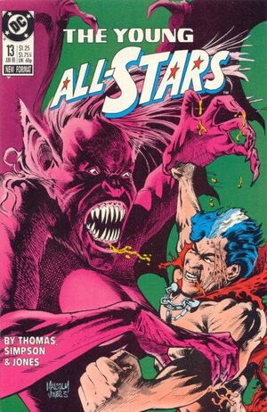 Cover for Young All-Stars #13