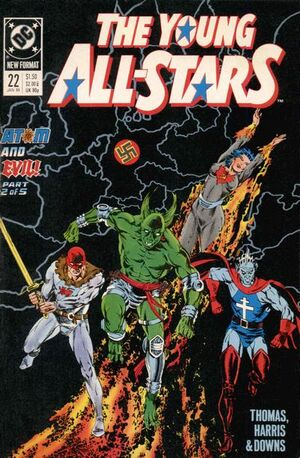 Cover for Young All-Stars #22