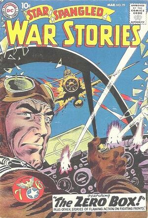 Cover for Star-Spangled War Stories #79