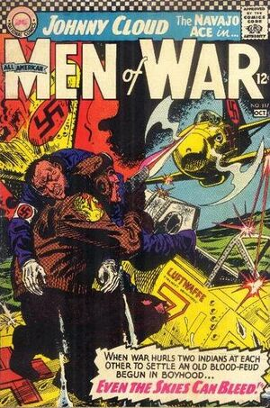 Cover for All-American Men of War #117
