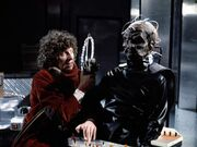 The Doc and davros