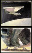 Ron Cobb Nostromo(ship-ramp) Book of Alien