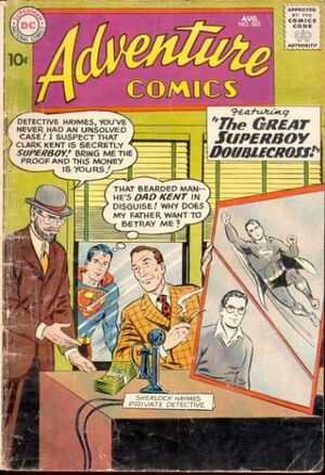 Cover for Adventure Comics #263
