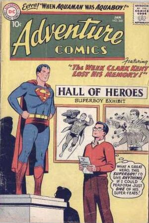 Cover for Adventure Comics #268
