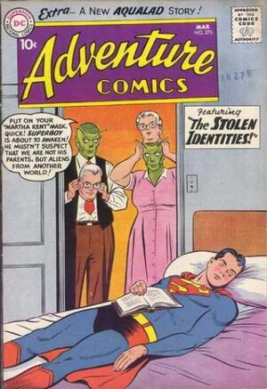 Cover for Adventure Comics #270