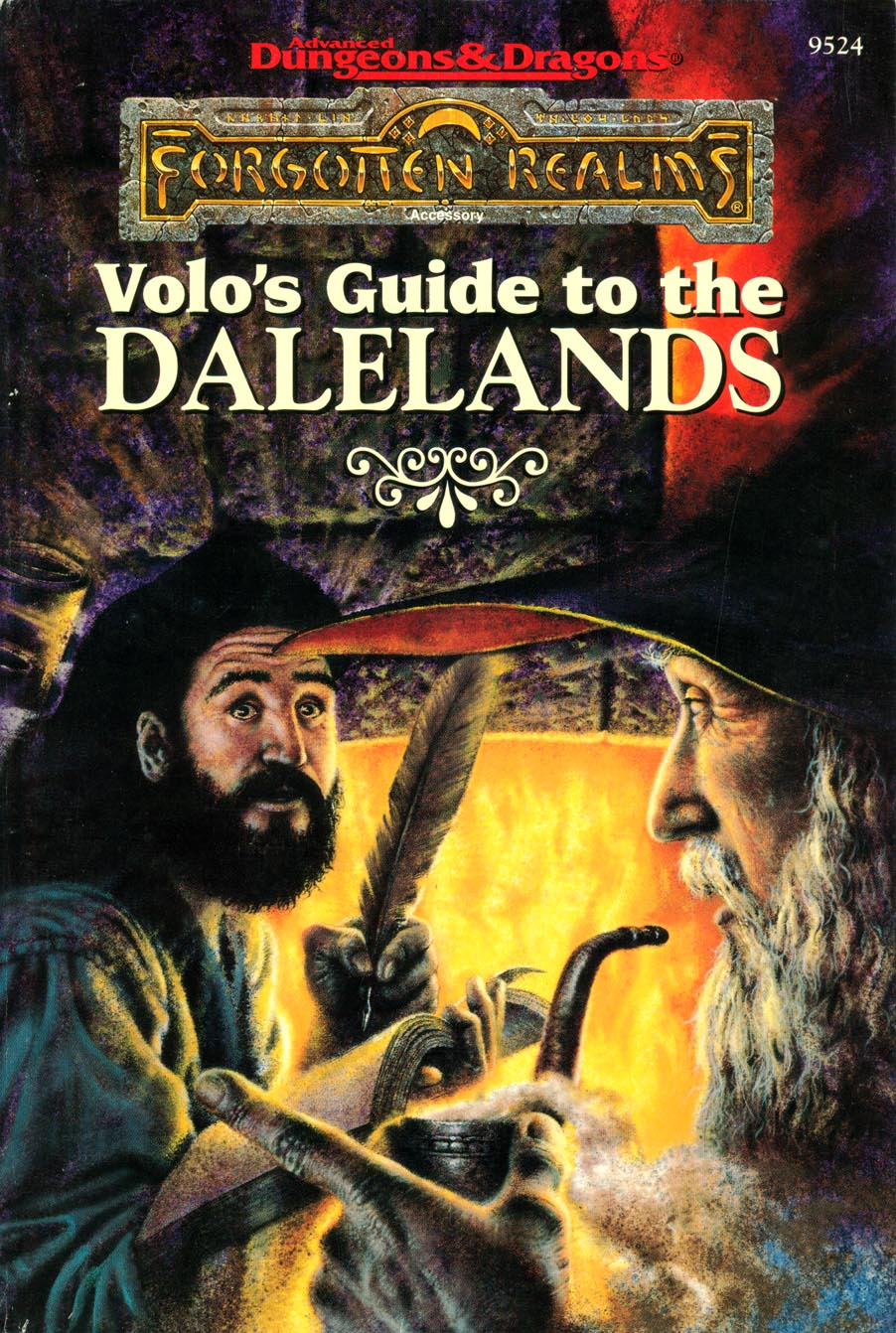 The Dalelands (AD&D/Forgotten Realms Accessory FRS1) L. Richard Baker III