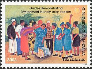 Tanzania Postage Stamp 2004