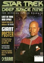 DS9 Poster Magazine issue 2 cover