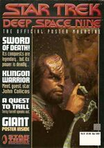 DS9 Poster Magazine issue 8 cover
