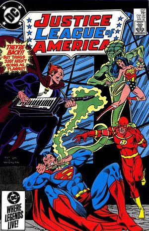 Cover for Justice League of America #237