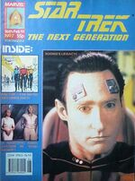 Marvel TNG magazine issue 7 cover