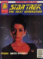 Marvel TNG magazine issue 17 cover
