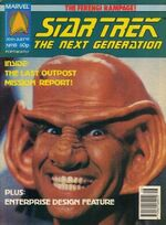 Marvel TNG magazine issue 18 cover