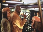 Avery Brooks directing 'Dogs of War'