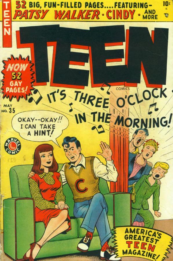 Teen Comics Vol 1 #35