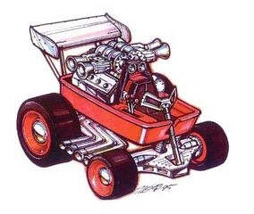 Radio Flyer Wagon Art