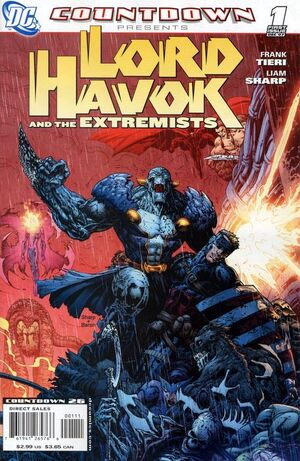 Cover for Countdown Presents: Lord Havok and the Extremists #1