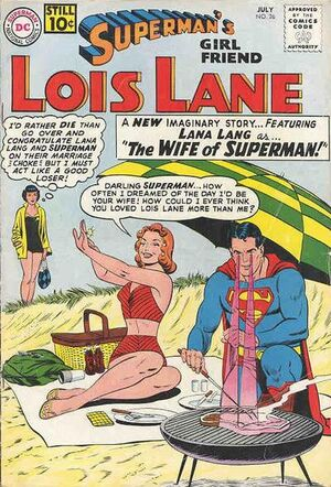 Cover for Superman's Girlfriend, Lois Lane #26