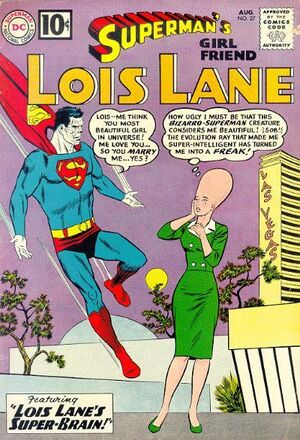 Cover for Superman's Girlfriend, Lois Lane #27