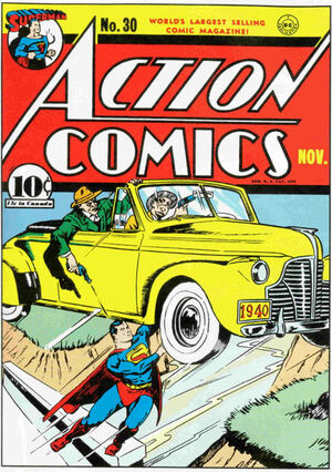 Cover for Action Comics #30