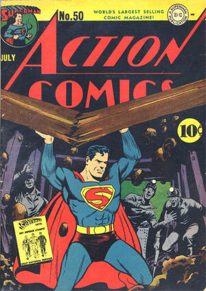 Cover for Action Comics #50