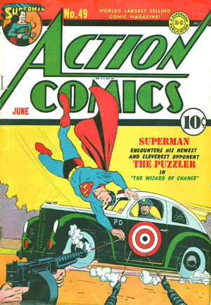 Cover for Action Comics #49